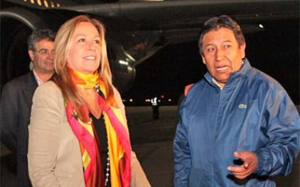 Испания налаживает связи с Боливией