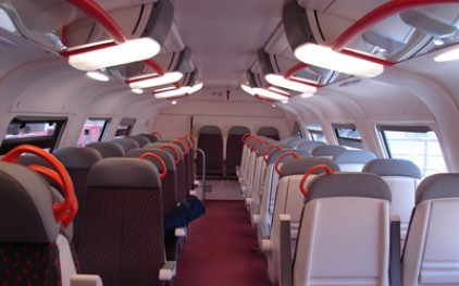 Из Турина в Милан отправился первый частный поезд