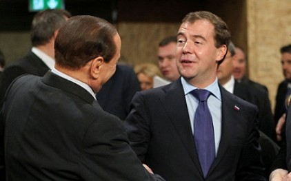 Медведев: Отношения между Россией и Италией - образцовый пример
