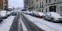 Снег осложнил движение транспорта в пяти провинциях Испании