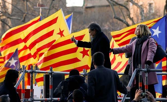 Суд над экс-председателем руководства Каталонии начался вИспании