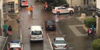 В Швейцарии мужчина с бензопилой напал на людей