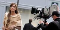 Анджелина Джоли, Брэд Питт и Джонни Депп в Риме