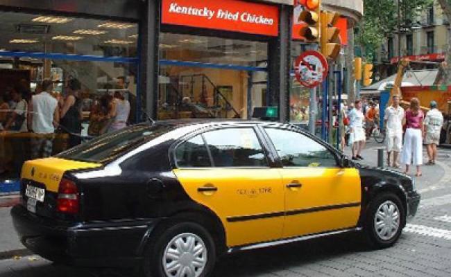 Таксисты в Барселоне - со всего мира
