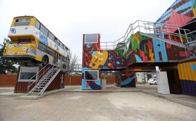 Португалия: офис-контейнер - смелое архитектурное решение