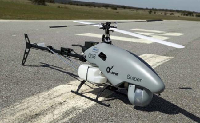 ЛЭП в Испании контролирует вертолет-беспилотник