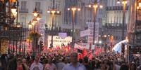 Безработные Испании не смогли организовать длинную протестную очередь