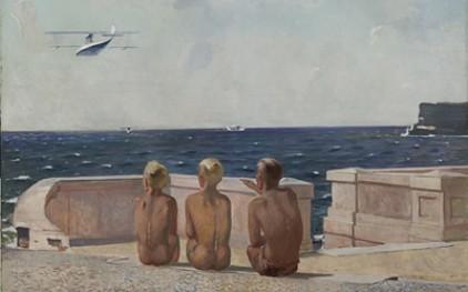 Выставка произведений Александра Дейнеки открылась в Риме