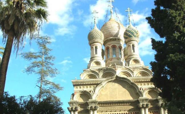 Сан-Ремо визитная карточка - русский храм