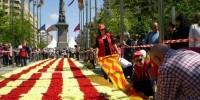 Сан-Хорди - покровитель влюбленных в Испании