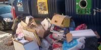 Во многих городах Португалии бастуют мусорщики