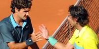 Надаль обыграл Федерера в полуфинале теннисного турнира в Мадриде