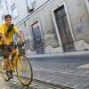 Португальская фирма развозит заказы только на велосипедах