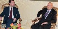 Медведев встретился с президентом Италии