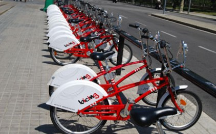 Велосипеды завоевывают испанские города
