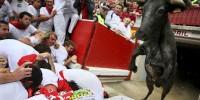 В праздничных бегах пострадали 42 человека