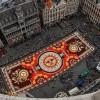 Ковер из полумиллиона живых цветов появился в центре Брюсселя