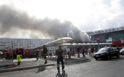 Пожар на станции в Риме нарушил ж/д сообщение в Италии