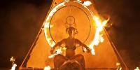 В Италии проходит фестиваль «Театр Огня»