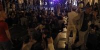 Центр Мадрида закрыт для движения из-за митинга молодежи