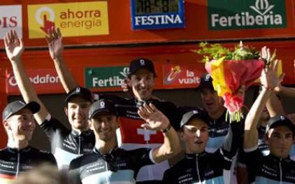 Велогонщики Leopard Trek выиграли первый этап испанской «Вуэльты»
