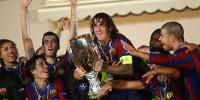 Футбольный клуб «Барселона» стал обладателем Суперкубка УЕФА