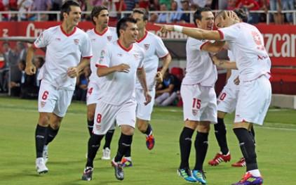«Севилья» победила «Малагу» в матче чемпионата Испании по футболу