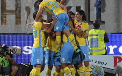 «Наполи» обыграл «Чезену» в чемпионате Италии по футболу
