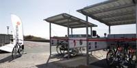 В Кашакайше появились велосипеды на солнечных батареях