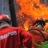 Под Лиссабоном произошел крупный пожар