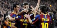 Футболисты «Барселоны» разгромили «Атлетико» в игре чемпионата Испании