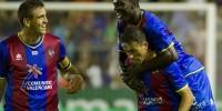 Футболисты «Леванте» выиграли третий матч кряду в чемпионате Испании