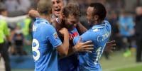 Футболисты «Наполи» разгромили «Интер» в матче чемпионата Италии