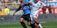 Футболисты «Новары» сыграли вничью с «Катанией» в чемпионате Италии