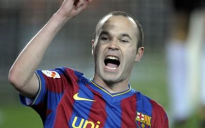Футболист Иньеста сможет приступить к тренировкам до конца недели