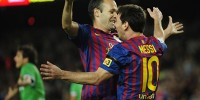 Футболисты «Барселоны» разгромили «Расинг» в чемпионате Испании