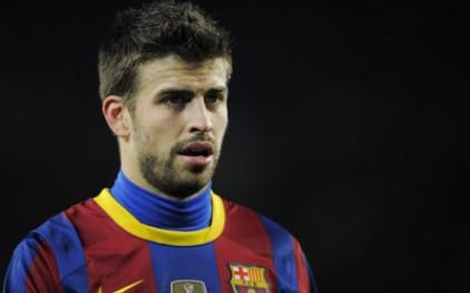 Защитник «Барселоны» Пике из-за травмы пропустит около двух недель