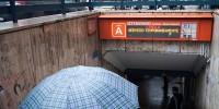 В Риме из-за сильной грозы затоплено несколько станций метро