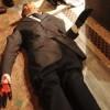В Милане нашли окровавленный манекен Берлускони