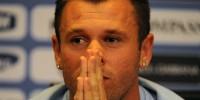Футболист «Милана» Кассано попал в больницу после прилета из Рима