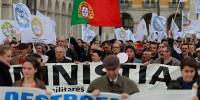 Забастовка в Португалии внесла хаос в жизнь страны