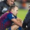 Футболист «Барселоны» Иньеста выбыл из строя на 15 дней из-за травмы