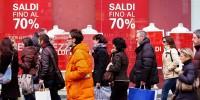 Сезон зимних распродаж начался в Италии