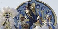 Красочными представлениями отмечают в Испании праздник трех волхвов