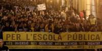 Более 100 тысяч школьников и преподавателей протестовали в Испании