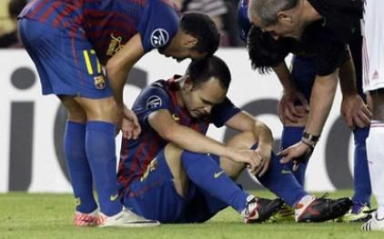 Кубок Испании по футболу оставил «Барселону» без Санчеса и Иньесты