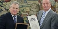 Европейская медаль толерантности вручена королю Испании