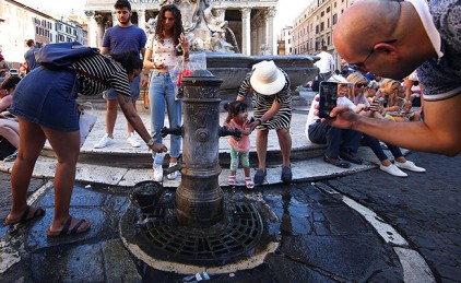 В Ватикане пересохли знаменитые фонтаны