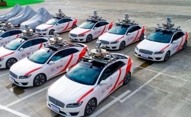 Китай планирует службу беспилотных такси
