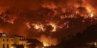 Пожар с тремя активными очагами бушует в Алгарве
